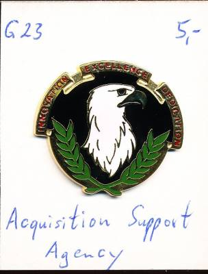 Unit Crest Acquisition Support Agency, Stacheln, G23